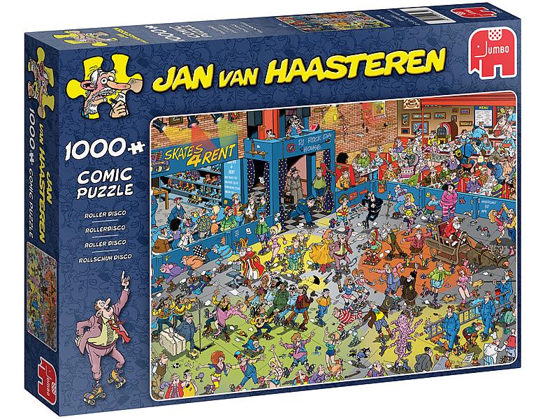 Jumbo Puzzle Jan Van Haasteren Rollschuh Disco 1000teile