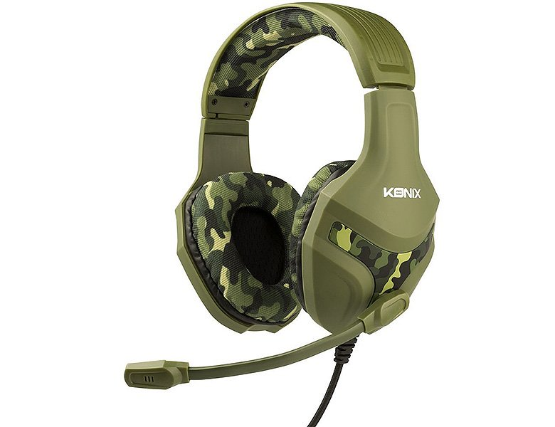 Konix PS4 Mythics Gaming Headset PS-400 Camouflage ...