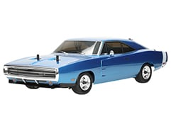EP Fazer 4WD VE-i Brushless Dodge Charger 1970 Blue RTR