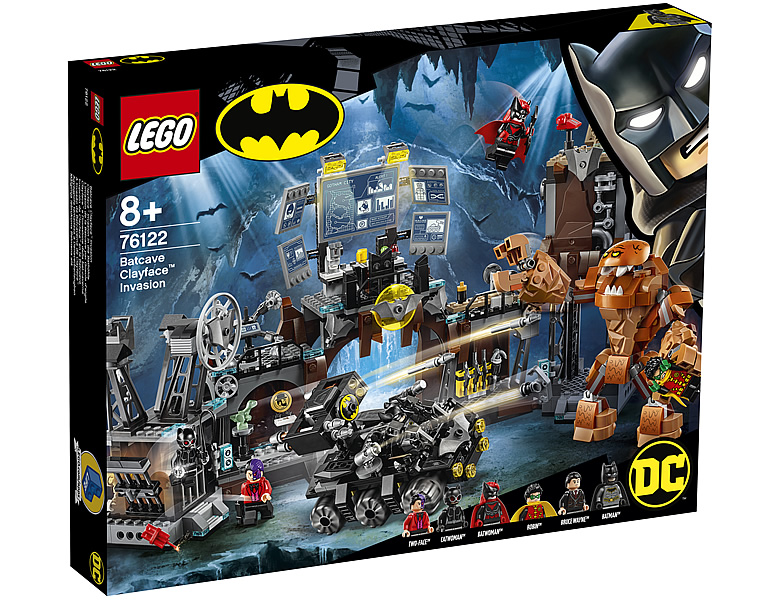 LEGO DC Universe Super Heroes Clayface Invasion in die Bathöhle Batman 76122