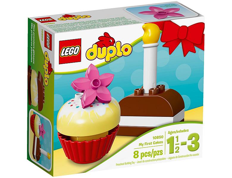 Lego Duplo Bausteine Mein Erster Geburtstags Kuchen 10850