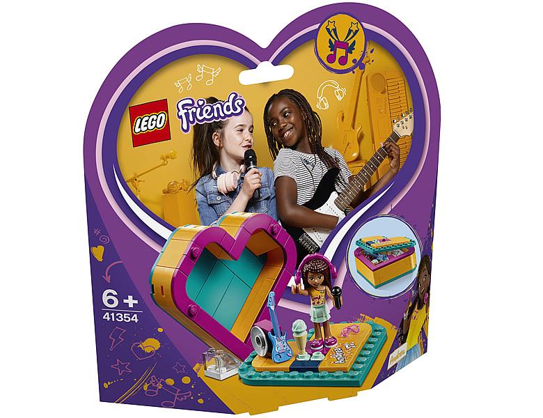 Lego Friends Andreas Herzbox 41354