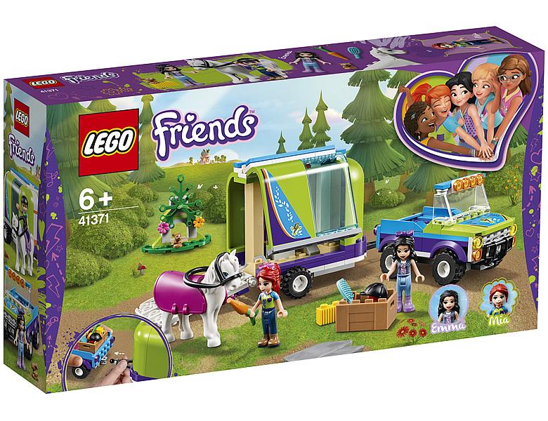 Lego Friends Mias Pferdetransporter 41371