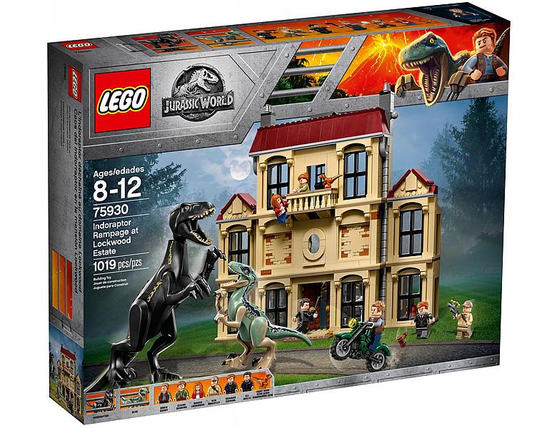 lego jurassic world indoraptor verw stung des lockwood anwesens 75930. Black Bedroom Furniture Sets. Home Design Ideas