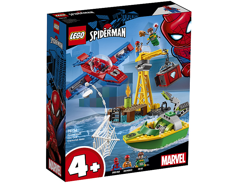 LEGO Marvel Super Heroes Diamantenraub mit Doc Ock 76134 Spiderman