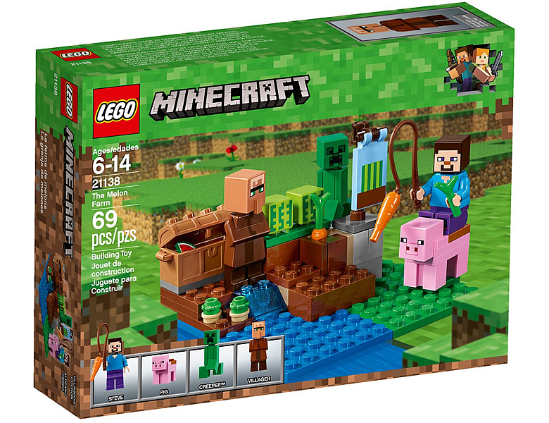 lego minecraft melonenplantage 21138. Black Bedroom Furniture Sets. Home Design Ideas