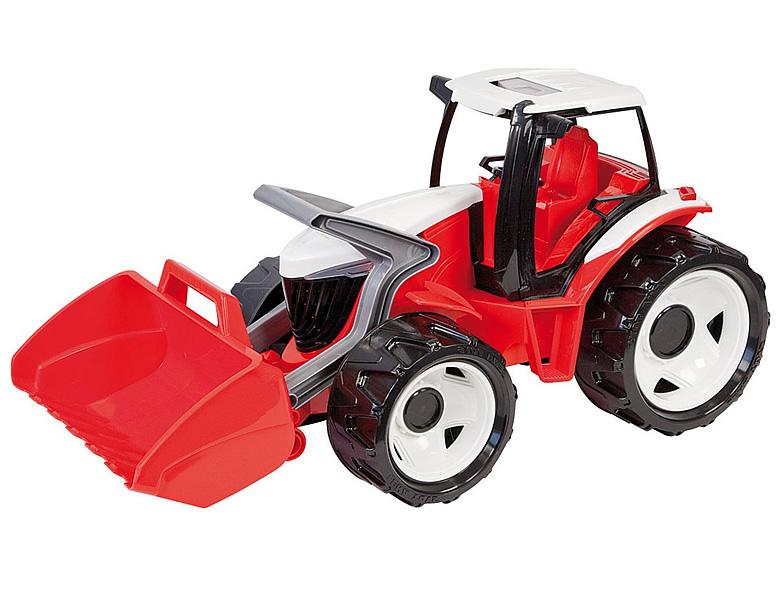 Lena traktor mit frontlader gross sandkasten