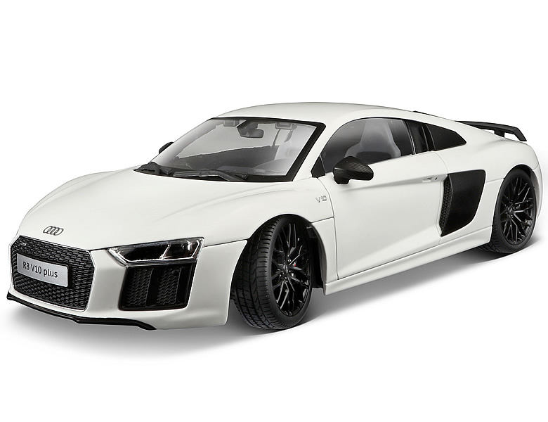 maisto 1 18 exklusive linie audi r8 v10 plus weiss die. Black Bedroom Furniture Sets. Home Design Ideas