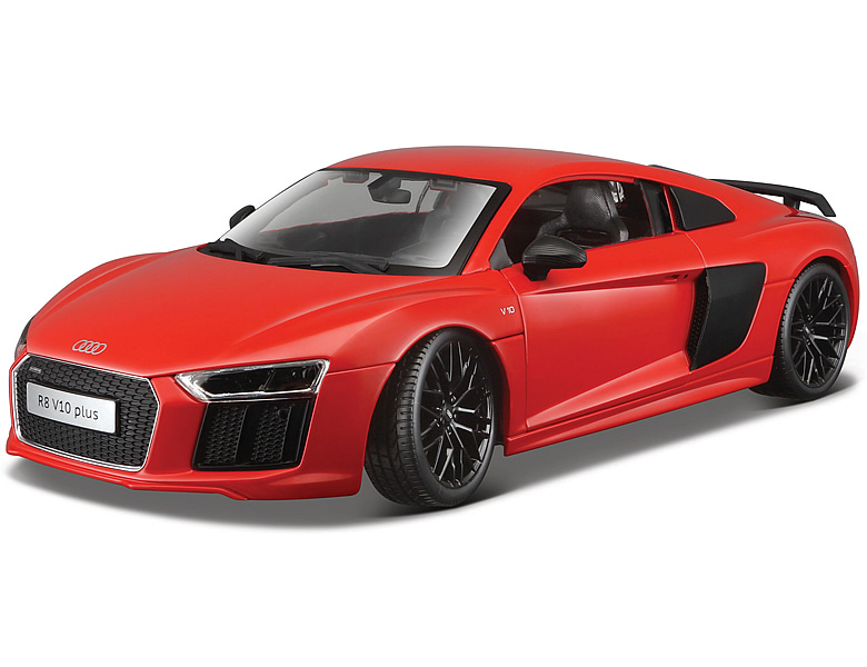 maisto 1 18 audi r8 v10 rot die cast modelle. Black Bedroom Furniture Sets. Home Design Ideas