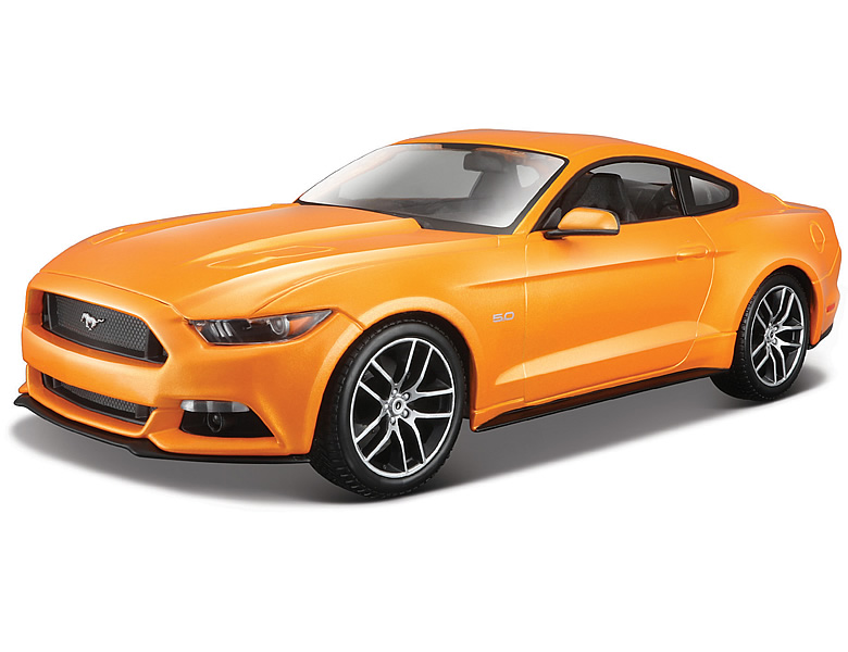 maisto 1 18 ford mustang gt 2015 orange die cast modelle. Black Bedroom Furniture Sets. Home Design Ideas