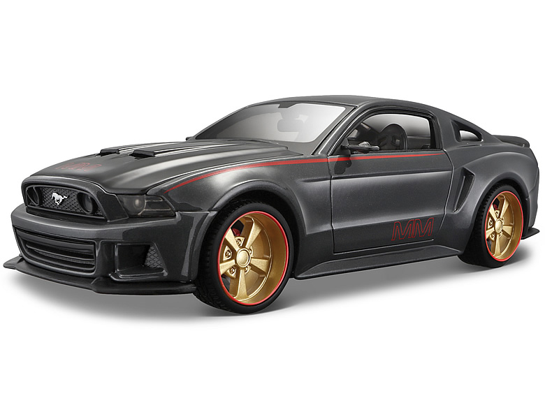 maisto 1 24 ford mustang 2014 street racer die cast modelle. Black Bedroom Furniture Sets. Home Design Ideas
