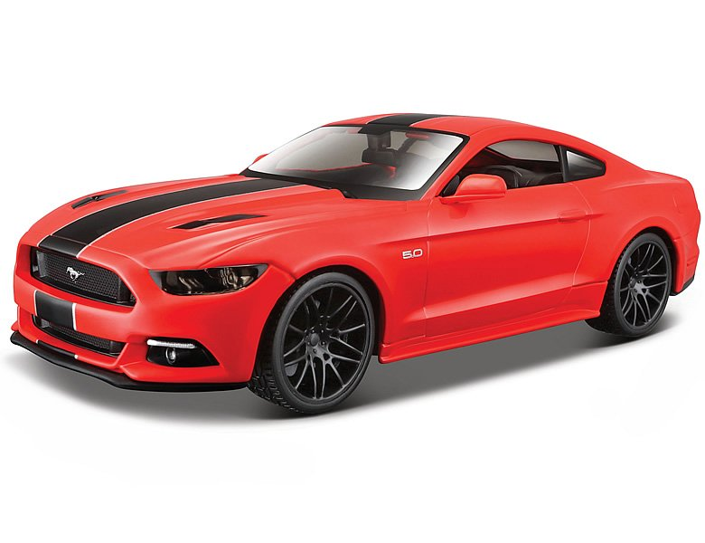 maisto 1 24 ford mustang gt 2015 rot die cast modelle. Black Bedroom Furniture Sets. Home Design Ideas