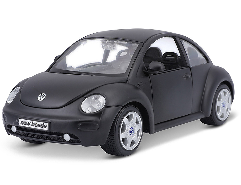 maisto 1 24 vw new beetle schwarz die cast modelle. Black Bedroom Furniture Sets. Home Design Ideas