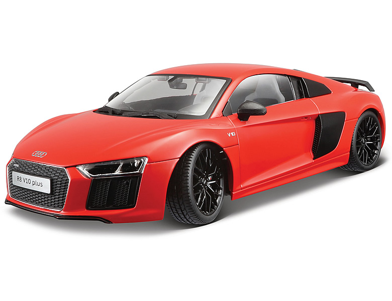 maisto 1 18 exklusive linie audi r8 v10 plus rot die. Black Bedroom Furniture Sets. Home Design Ideas