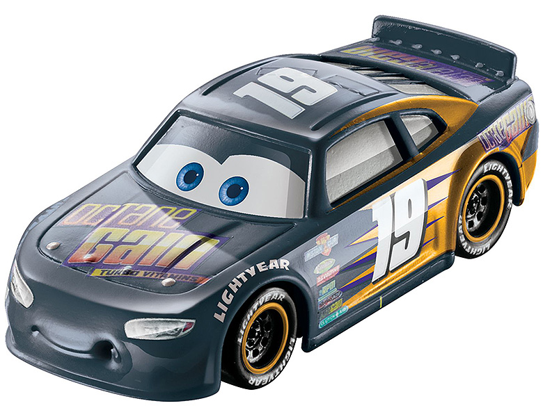 mattel disney cars color changers bobby swift 155