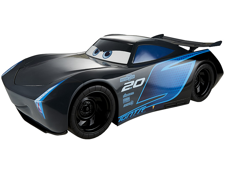 mattel disney cars jackson storm 50cm spielzeugauto. Black Bedroom Furniture Sets. Home Design Ideas