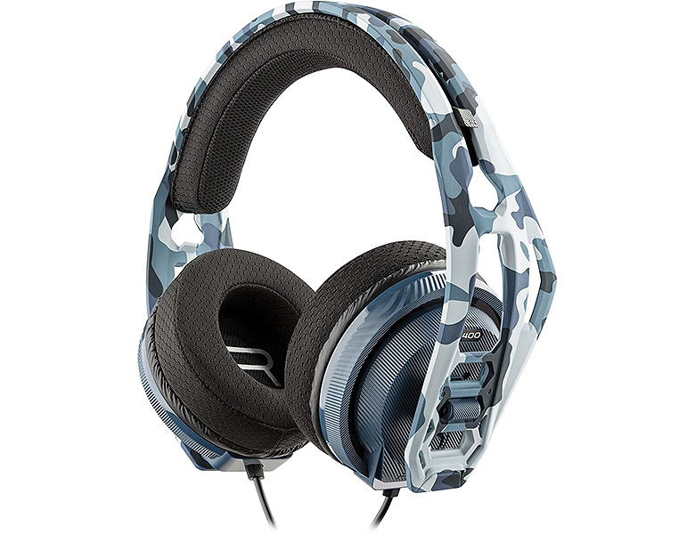 Nacon PS4 RIG 400HS Stereo Gaming Headset Camo Blue