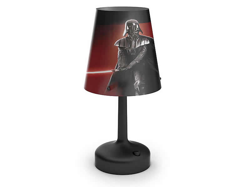 philips star wars led tischleuchte darth vader kinderlampen. Black Bedroom Furniture Sets. Home Design Ideas
