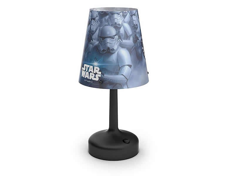 philips led tischleuchte stormtrooper star wars kinderlampen. Black Bedroom Furniture Sets. Home Design Ideas