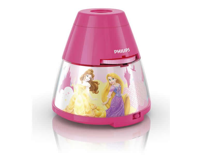 Philips tischleuchte disney princess mit projektor - Nachtlicht disney princess ...