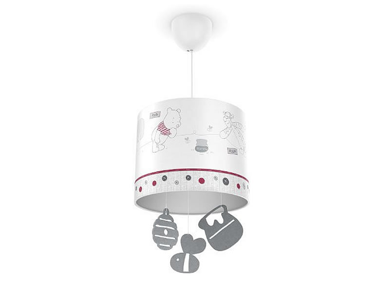philips winnie pooh pendelleuchte kinderlampen. Black Bedroom Furniture Sets. Home Design Ideas
