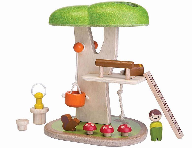 PlanToys PlanWorld Baumhaus | Spielesets- und Figuren
