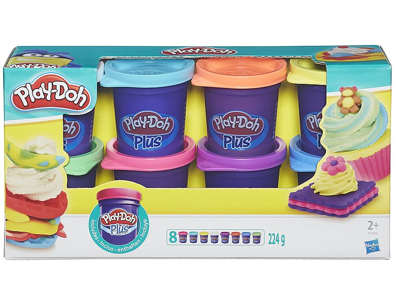 Play-Doh Plus 8er-Pack