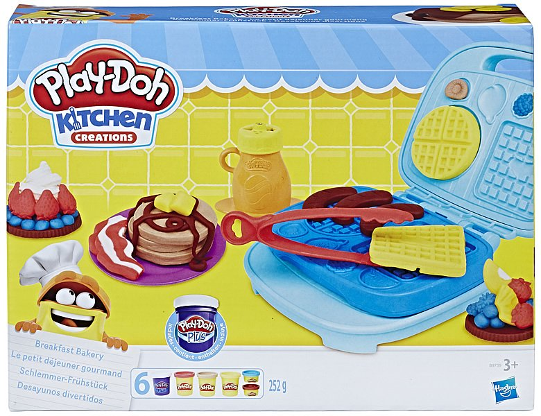 Play-Doh Kitchen Waffelbäckerei