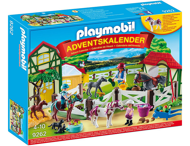 PLAYMOBIL Country Adventskalender Reiterhof 9262