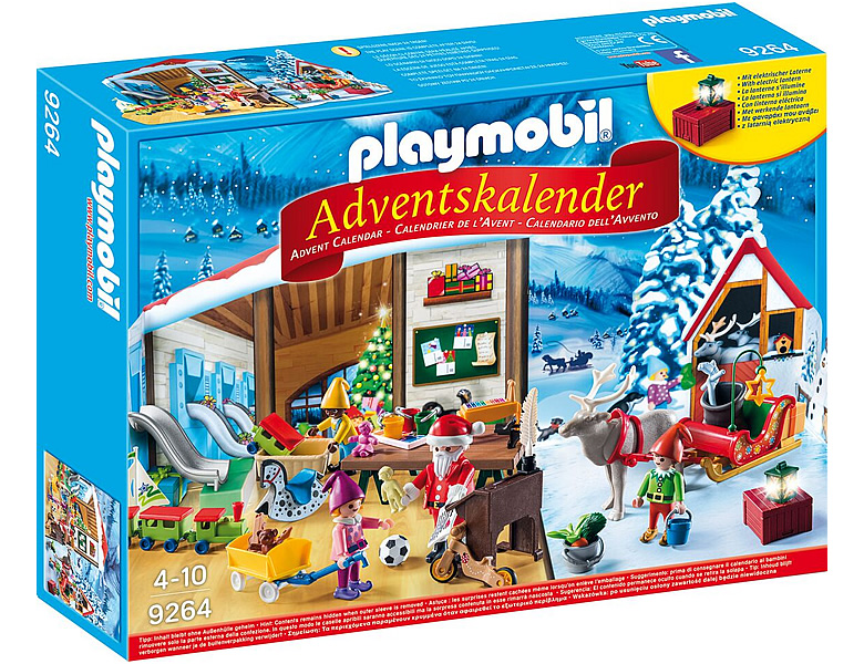 playmobil adventskalender wichtelwerkstatt 9264. Black Bedroom Furniture Sets. Home Design Ideas