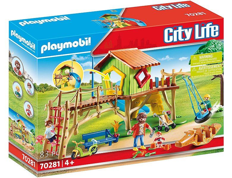 playmobil city life kita abenteuerspielplatz 70281