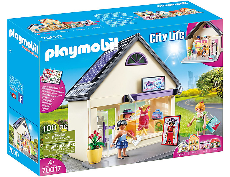 playmobil city meine trendboutique 70017 geb 228 ude