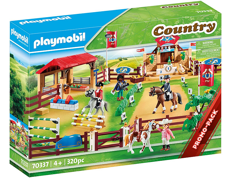 PLAYMOBIL Country Grosser Reitturnierplatz 70337