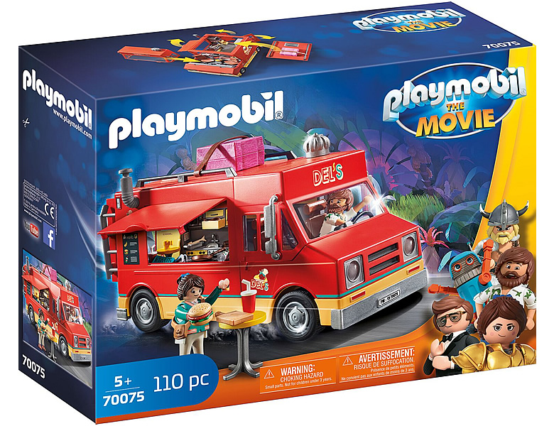PLAYMOBIL The Movie Del's Food Truck 70075