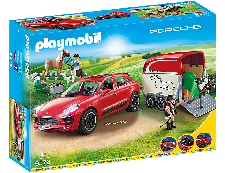 playmobil country porsche macan gts 9376. Black Bedroom Furniture Sets. Home Design Ideas