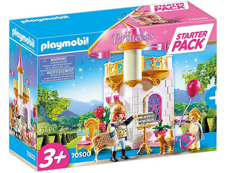 playmobil princess starter pack prinzessin 70500  ritter