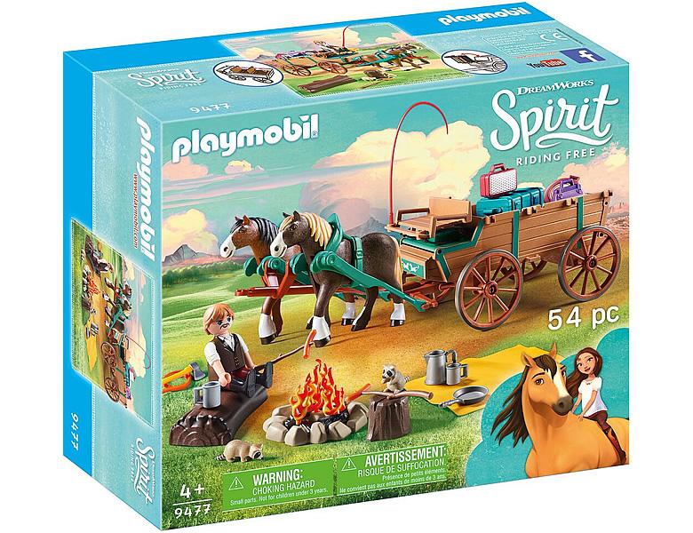Playmobil spirit vater jim mit kutsche 9477 - Playmobil kutsche ...