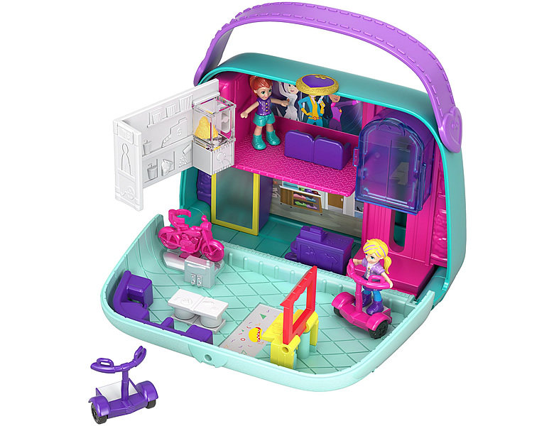 Polly Pocket Pocket World Einkaufszentrum Schatulle