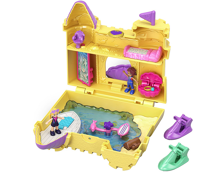 Polly Pocket Pocket World Sandburg Schatulle