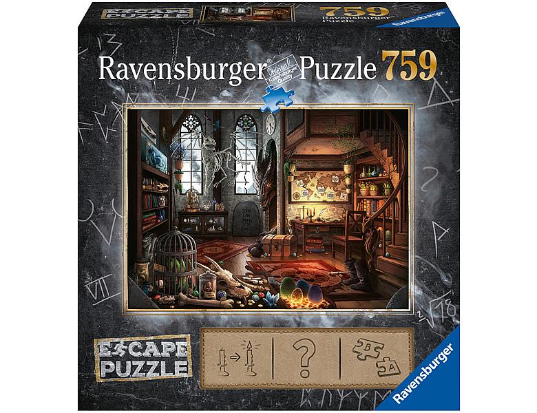 ravensburger puzzle escape dragon laboratory 759teile. Black Bedroom Furniture Sets. Home Design Ideas