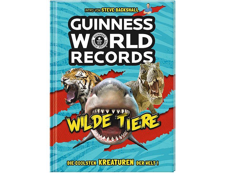 Ravensburger Guinness World Records Wilde Tiere