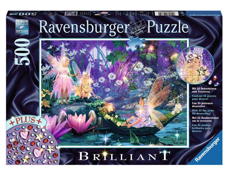 ravensburger puzzle im feenwald 500teile puzzle 500 teile. Black Bedroom Furniture Sets. Home Design Ideas