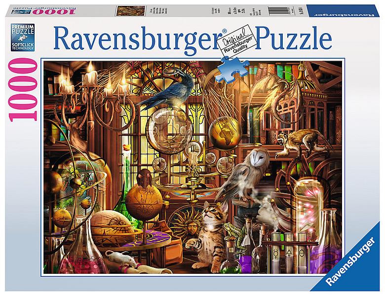 ravensburger puzzle merlins labor 1000teile puzzle 1000. Black Bedroom Furniture Sets. Home Design Ideas