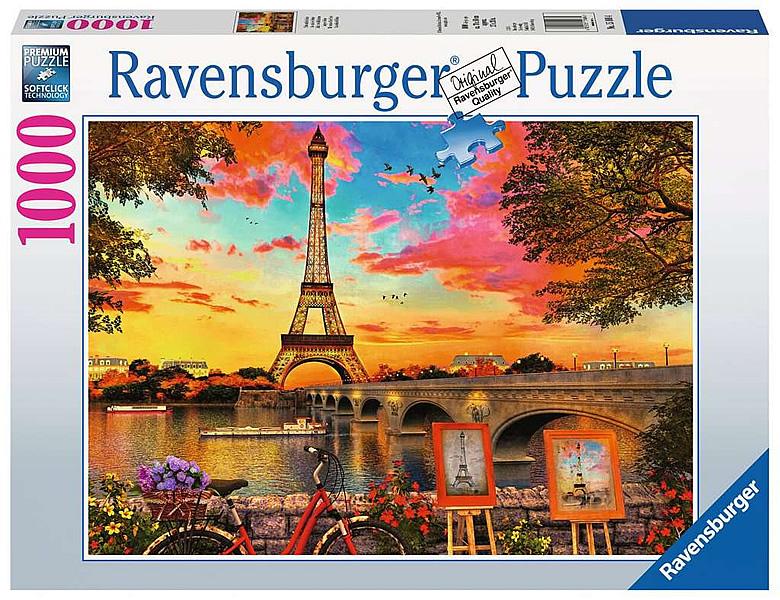 ravensburger puzzle paris eiffelturm 1000teile puzzle. Black Bedroom Furniture Sets. Home Design Ideas