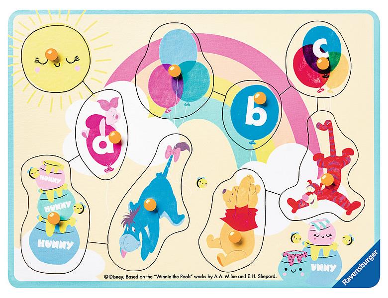 Ravensburger Puzzle Winnie und seine Freunde Winnie Pooh 9Teile ...