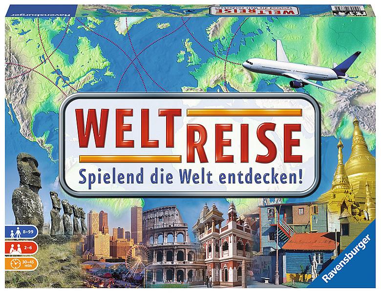 Spiel Weltreise