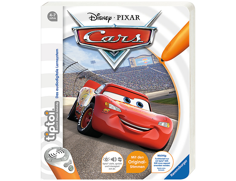 Ravensburger tiptoi Disney Cars