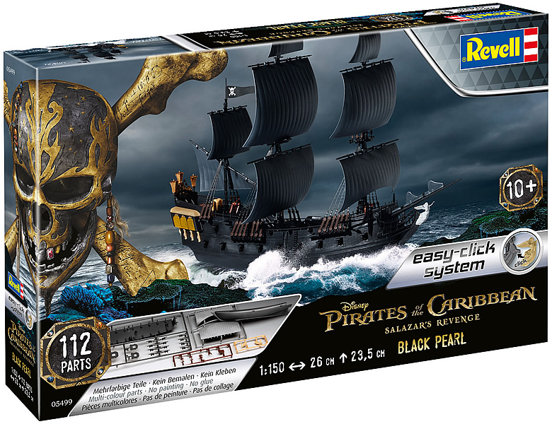 Revell Easy-Click Piratenschiff Black Pearl 112Teile