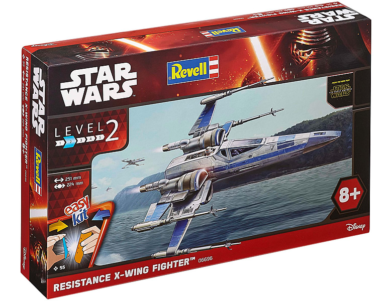 Revell easykit Resistance X-Wing Fighter 55Teile Star Wars | Modellbausätze