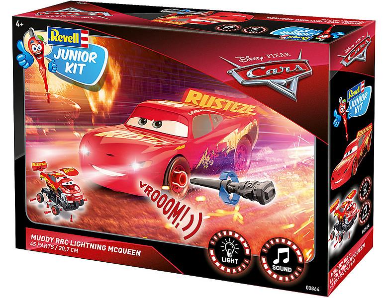 Revell Junior Kit Lightning Mcqueen Crazy 8 Race Disney Cars